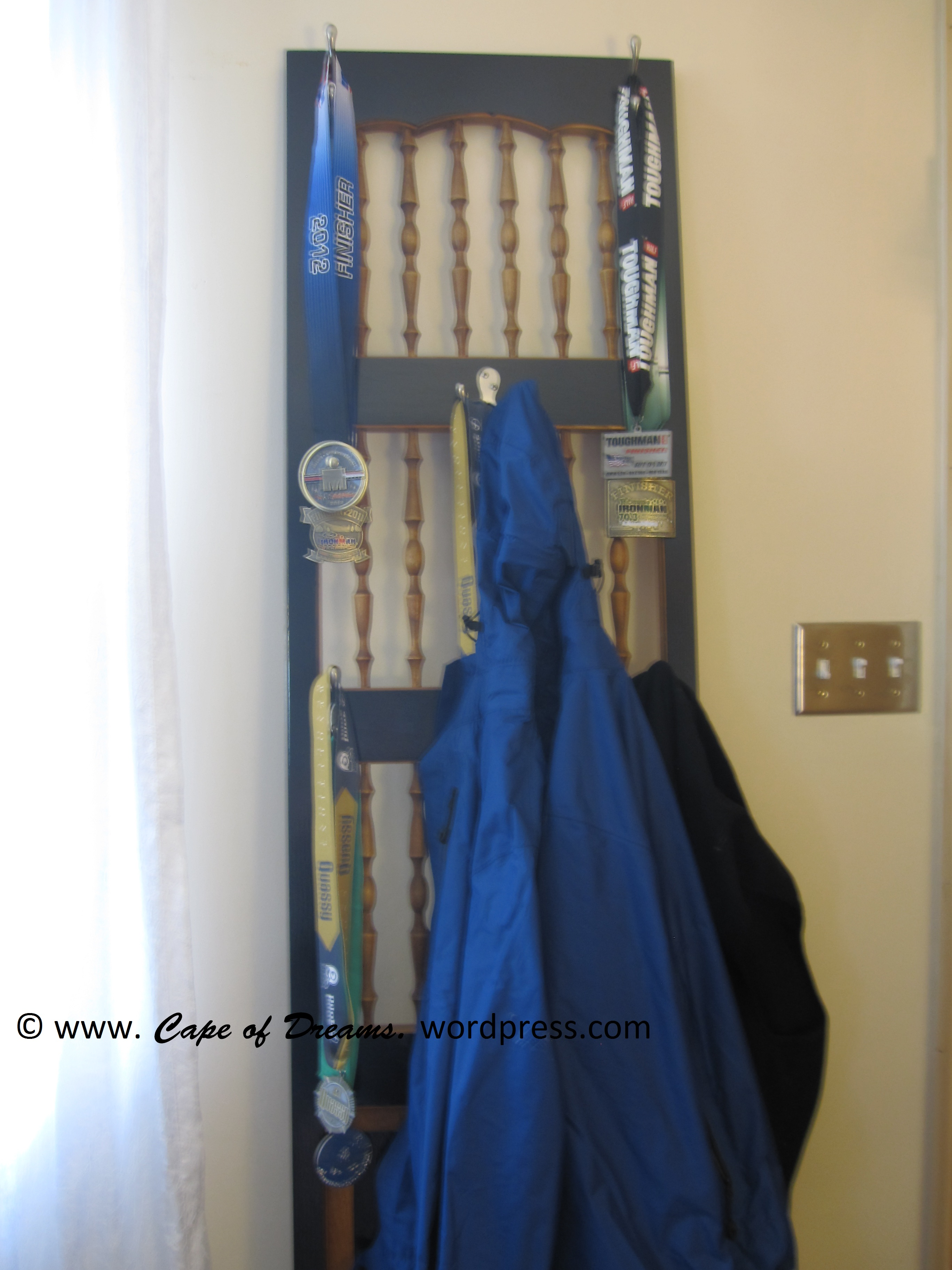 Homemade Coat Rack homemade coat rack – cape of dreams