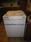 New white dishwasher