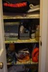 Closet needs organizing