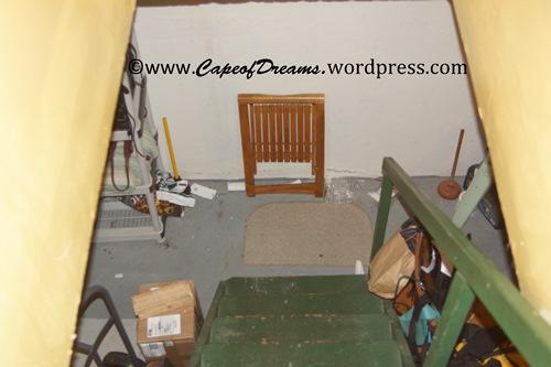 Hoarders' basement