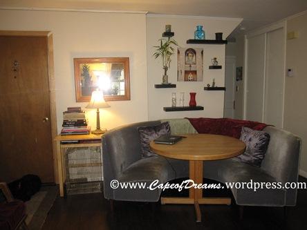 Circular sofa couch
