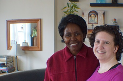 Angela and Jessica