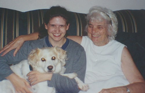 Grandma, Freckles and I