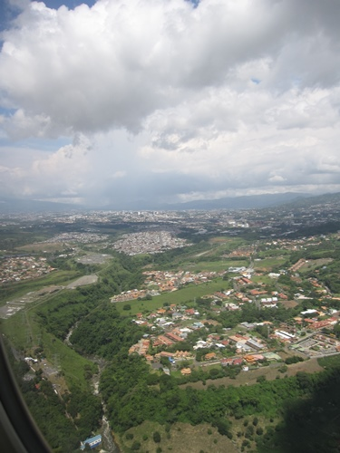 Arriving in San Jose, Costa Rica