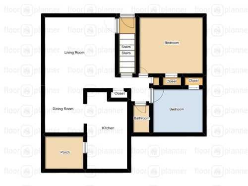 Cape of Dreams'first floor plan