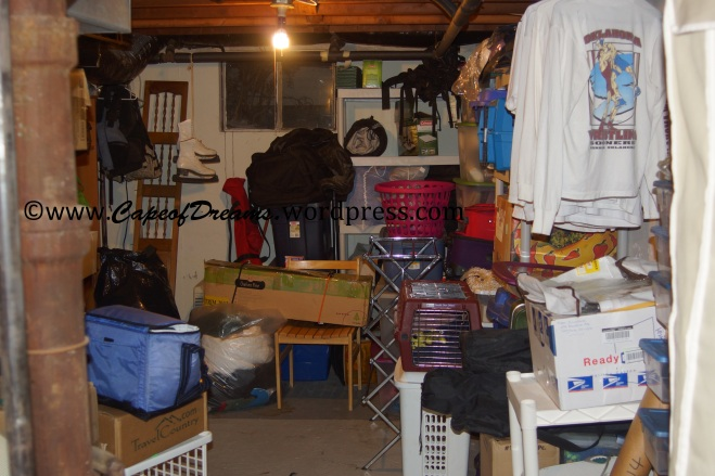 Messy basement
