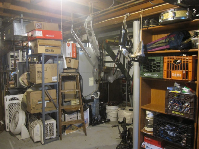 Organized basement